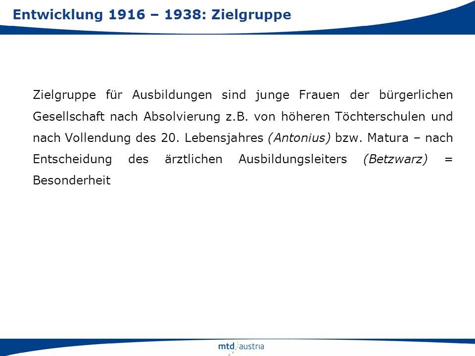 2004: Freiberuflichkeit für alle MTD-Berufe (MTD-Gesetz- Novelle 2003 – BGBl I 2004/7) nach Klage EU gegen Österreich, initiiert vom Berufsverband der Biomedizinischen Analytikerinnen 2005: Ausbildung im Rahmen von Fachhochschul-Bachelor- studiengängen (MTD-Gesetz – BGBl I 2005/70 u.