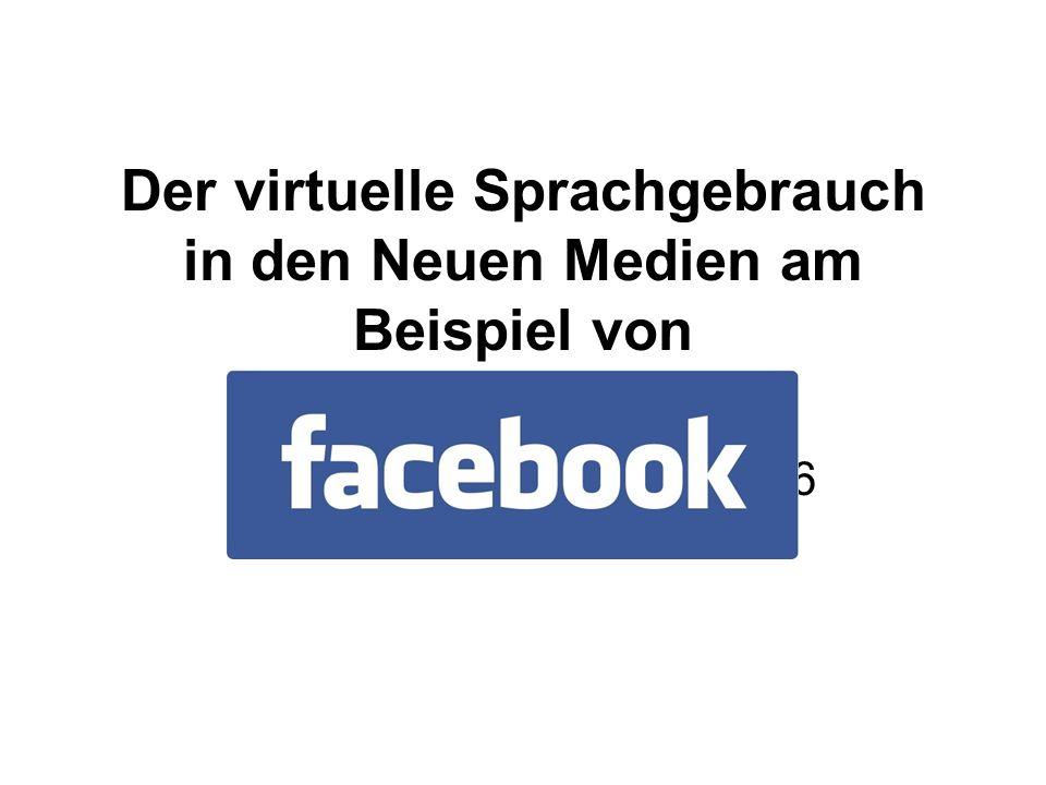 Der virtuelle Sprachgebrauch in den Neuen Medien am Beispiel von Susanne Eichhorn, 9203736