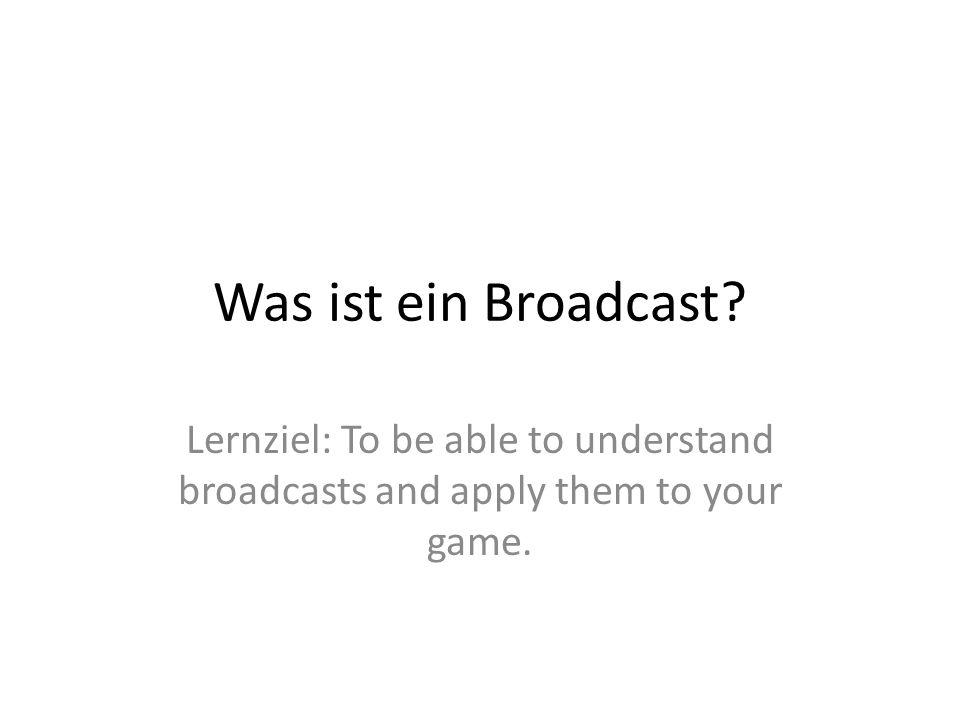 Schau dir das Gespräch an Was passiert.Lies das Skript auf Deutsch Was bedeuten… SENDE … AN ALLE.