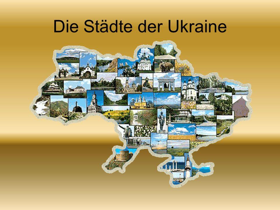 Kiev ist die Hauptstadt der Ukraine mit einer Bevölkerung von etwa 3 Millionen Bürgerinnen und Bürger.