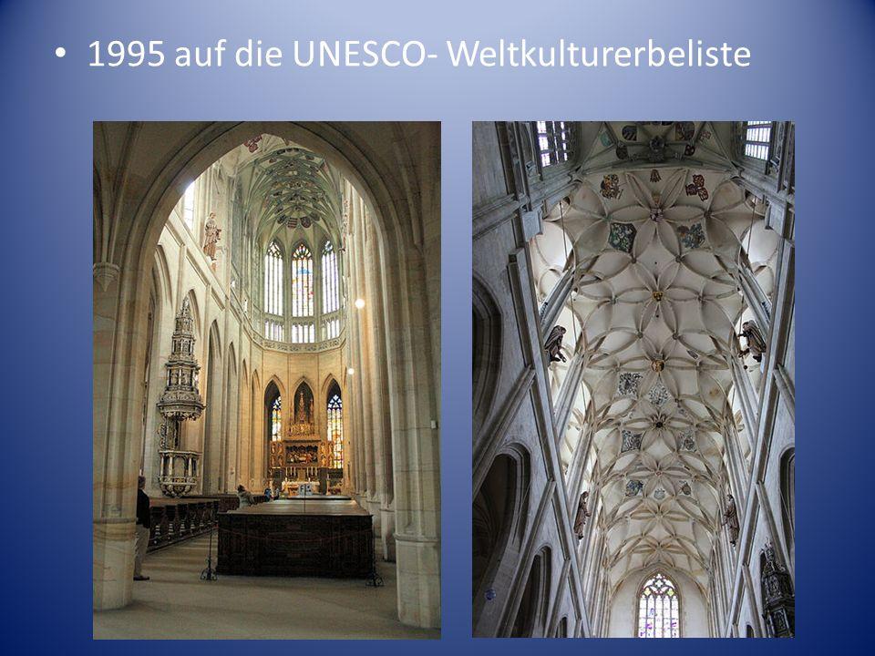 1995 auf die UNESCO- Weltkulturerbeliste