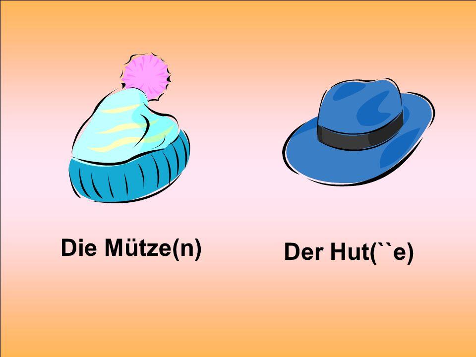 Die Mütze(n) Der Hut(``e)