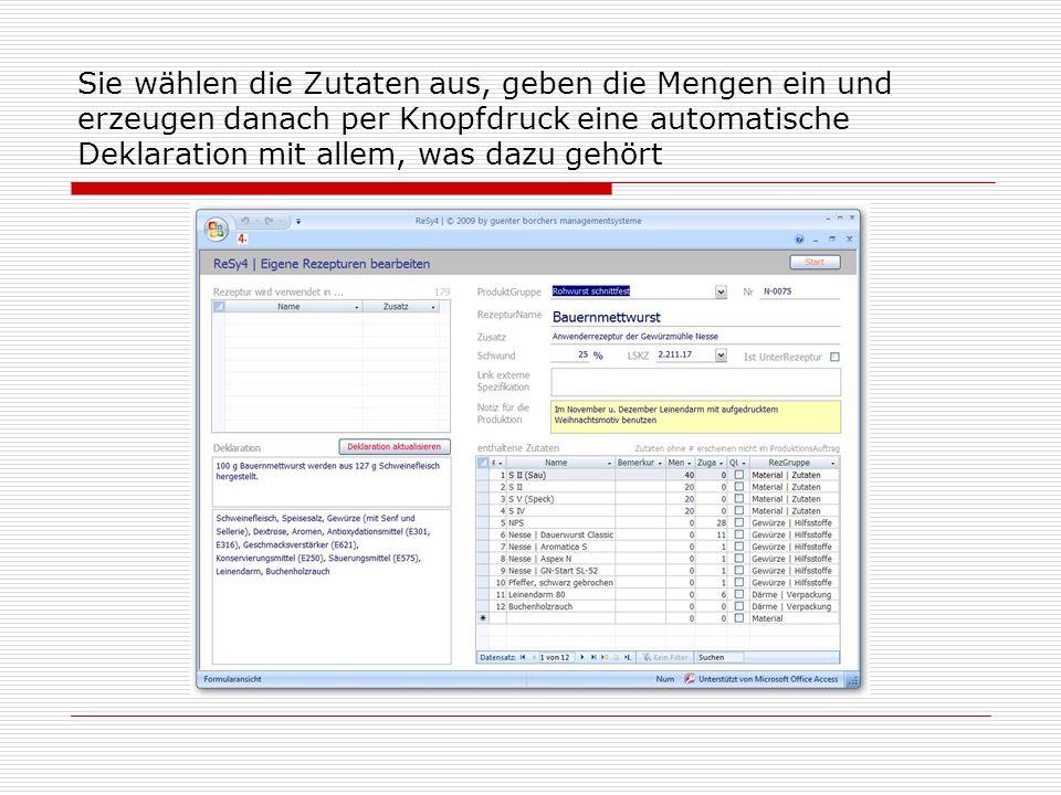 Unter dem Punkt KundenInfo finden Sie eine Zusammenfassung aller relevanten Informationen