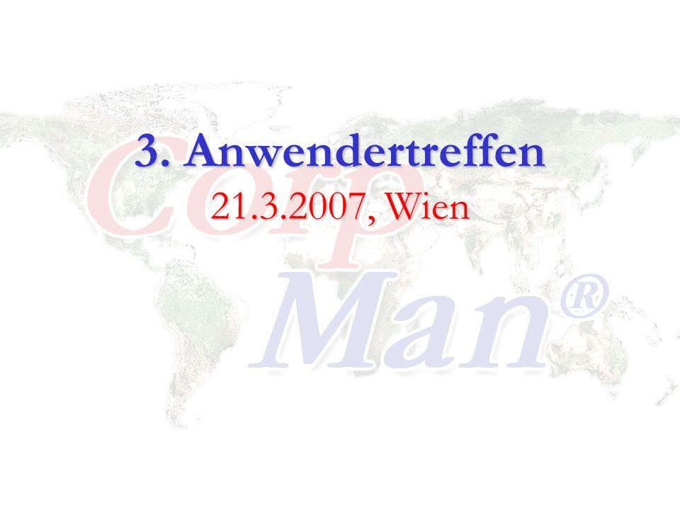 3. Anwendertreffen 21.3.2007, Wien