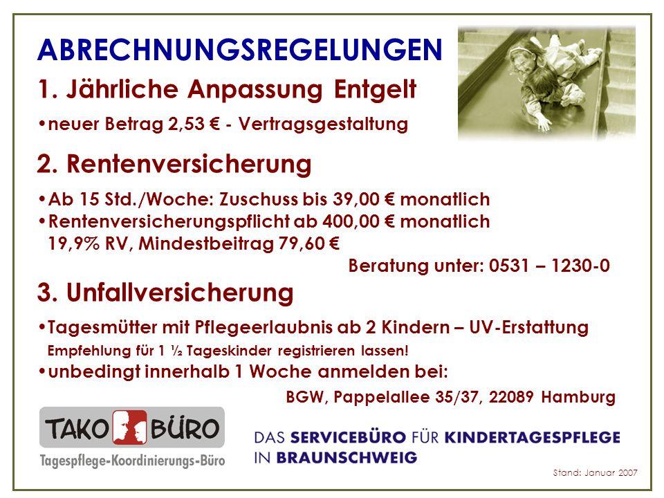 STAND DER DINGE – Neu in Niedersachsen.