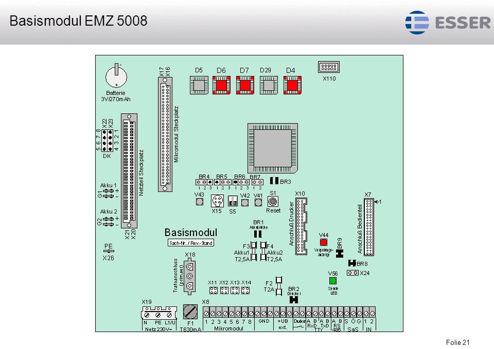 Folie 21 Basismodul EMZ 5008