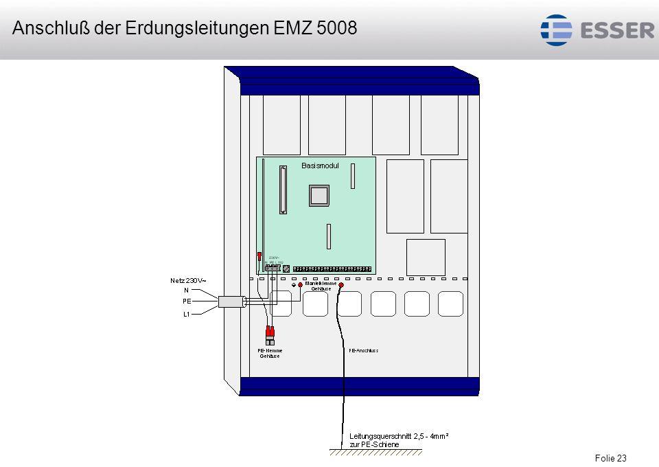 Folie 24 Netzteil EMZ 5008