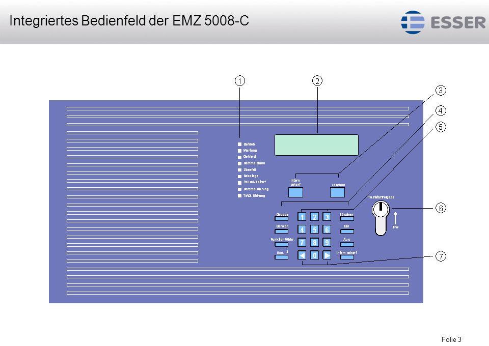 Folie 4 Art.-Nr.385028 Zentralengehäuse mit Bedienfeld, max.