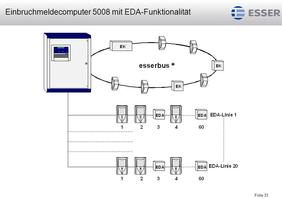 Folie 34 EMZ 5008 Folie 34 maximal 6 Ringlinienkarten Serie 02 pro Zentrale maximal 64 Busteilnehmer inkl.