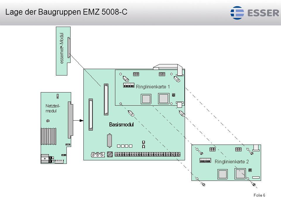 Folie 7 Basismodul Netzteilmodul 1 essernet -Mikromodul max.