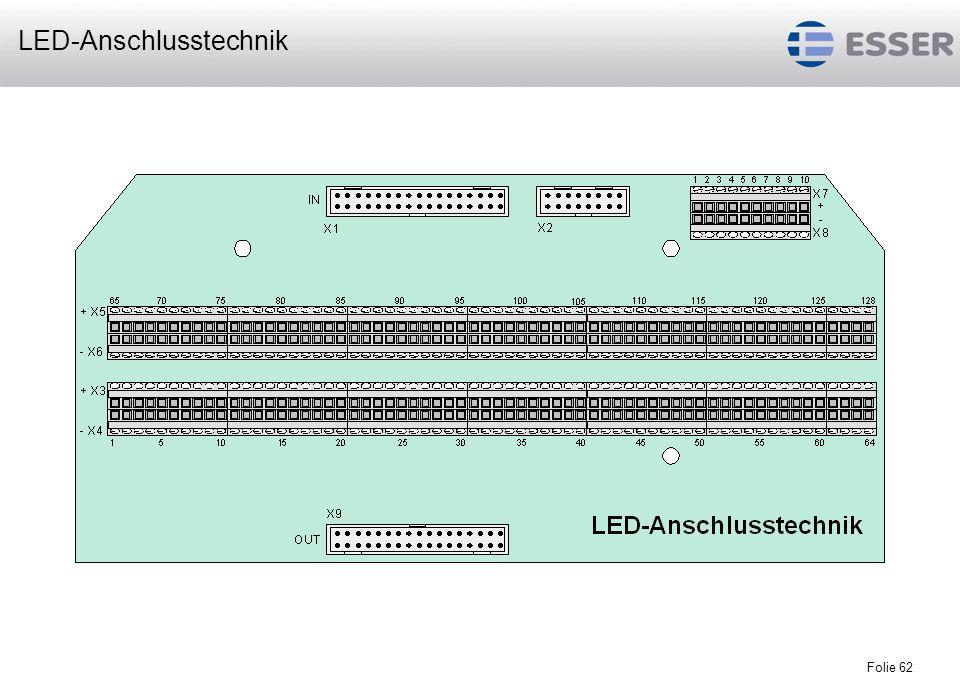 Folie 62 LED-Anschlusstechnik