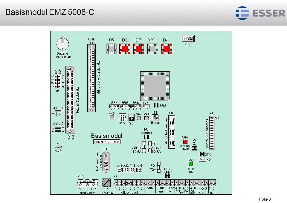 Folie 8 Basismodul EMZ 5008-C