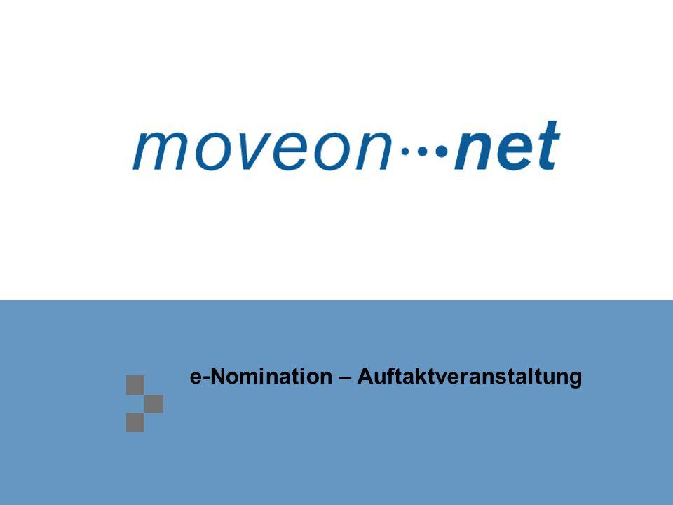 e-Nomination – Auftaktveranstaltung