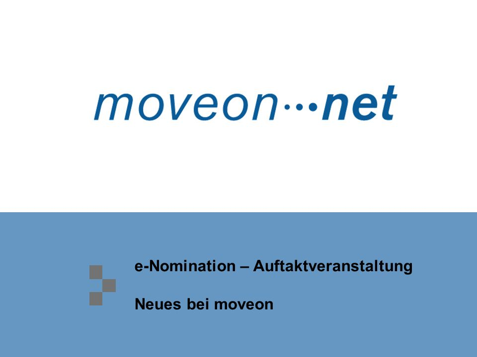 Seite 46 / 78 March 2007 e-Agreements : with moveonnet moveonnet is available to all institutions and usage is not limited to moveon-users > partners must register in moveonnet > partners must use moveonnet for all tasks regarding agreement renewals > partners are not obliged to use moveonnet with their own other partners > partners have no costs unless they decide to use e-Agremeents for their complete renewal process