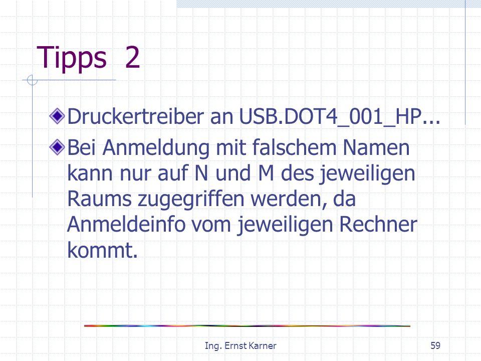 Ing. Ernst Karner59 Tipps 2 Druckertreiber an USB.DOT4_001_HP...