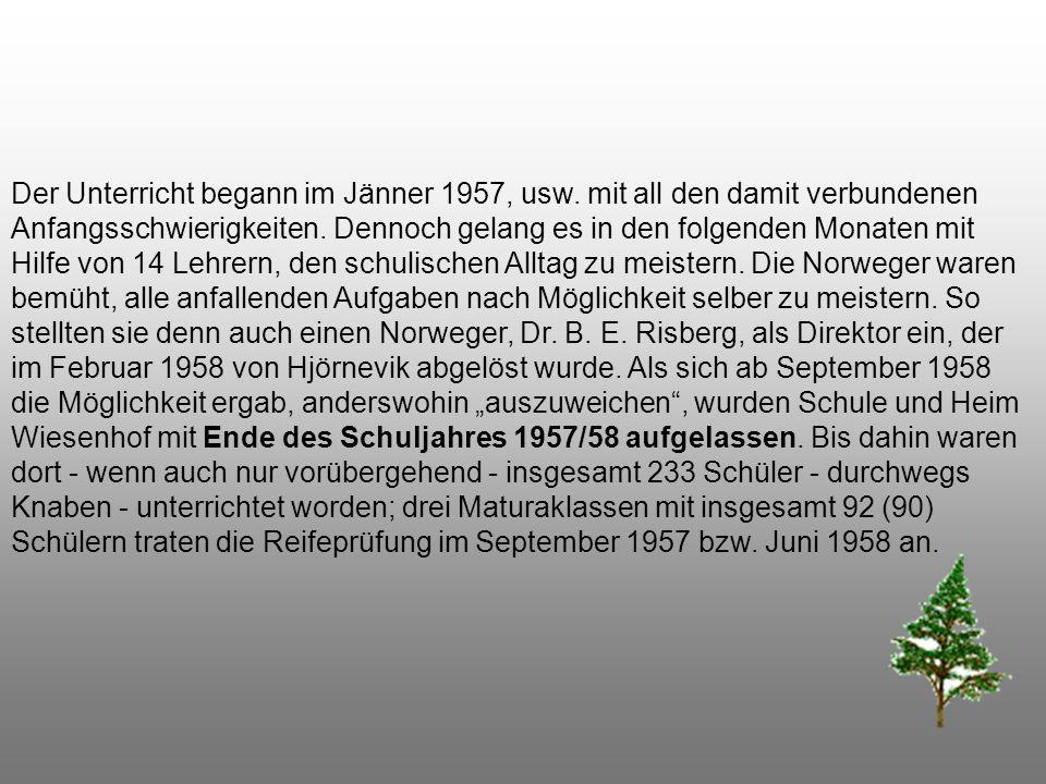 Bereits am 23. November 1956, also einen Monat nach Ausbruch des Volksaufstandes in Ungarn, wurde über Vermittlung der Gemeinnützigen Wohn- und Siedlu
