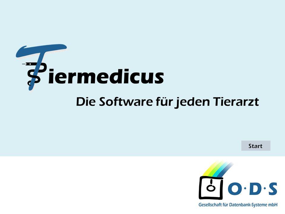 Einleitung Stand: 09.01.2007 Wir begrüßen Sie zur Präsentation der Software Tiermedicus.
