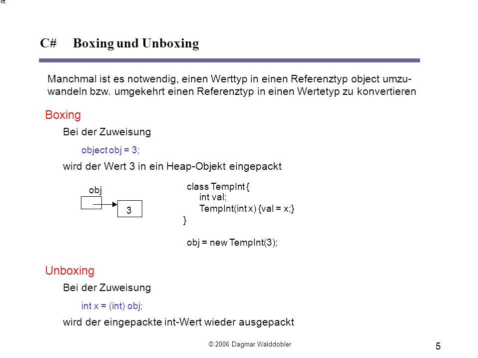 mit den Vergleichsoperatoren == und != dabei wird zwischen Klein- und Großschreibung unterschieden : string s1 = Montag ; string s2 = MONTAG ; if (s1==s2) … // ist falsch mit der Funktion CompareTo string s1 = Maier ; string s2 = Meier ; if (s1.CompareTo(s2)<0) ….