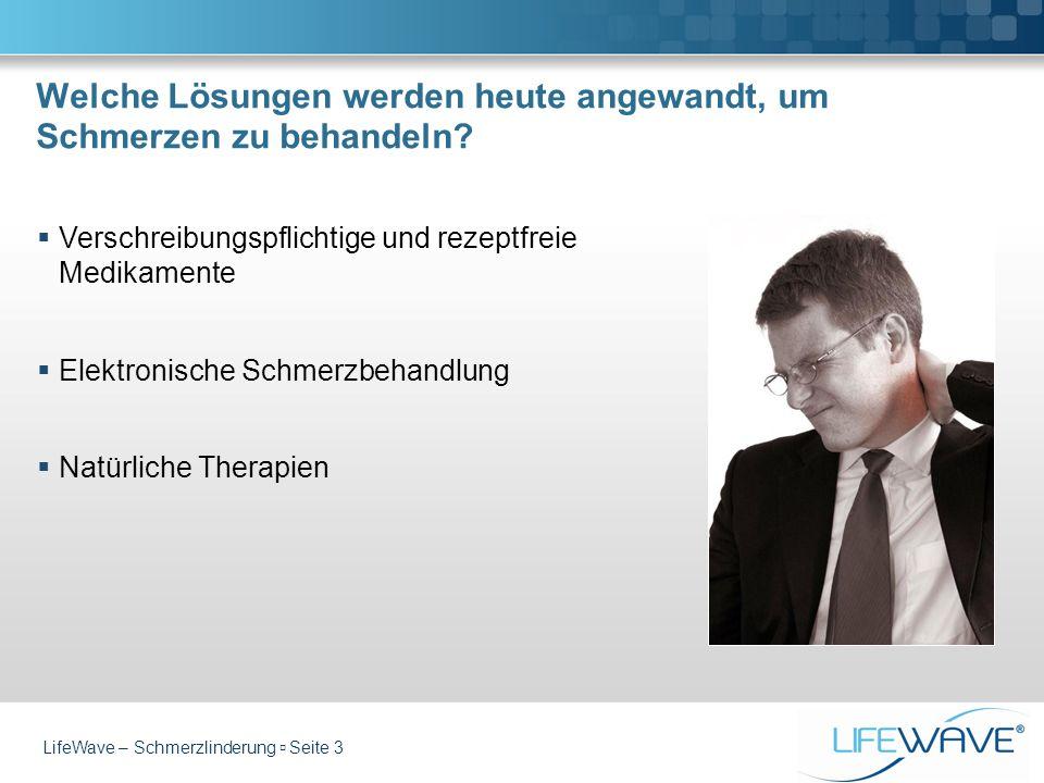 Welche Lösungen werden heute angewandt, um Schmerzen zu behandeln? Verschreibungspflichtige und rezeptfreie Medikamente Elektronische Schmerzbehandlun