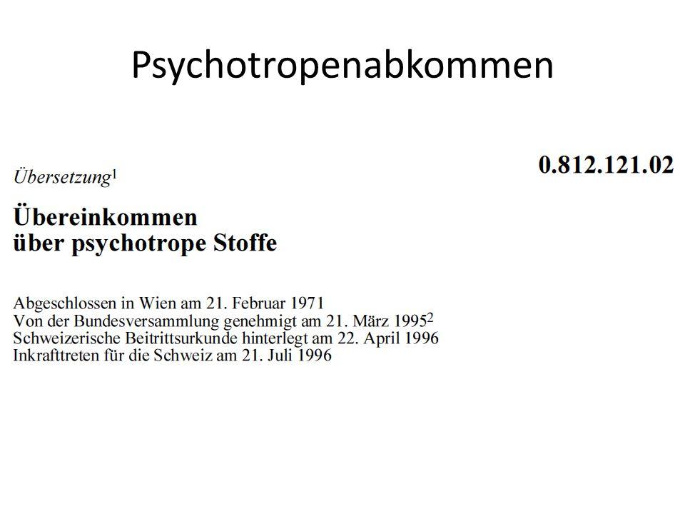 Psychotropenabkommen