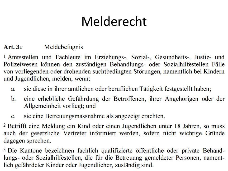 Melderecht