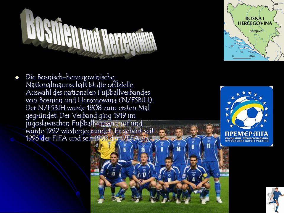 Die Bosnisch-herzegowinische Nationalmannschaft ist die offizielle Auswahl des nationalen Fußballverbandes von Bosnien und Herzegowina (N/FSBIH). Der