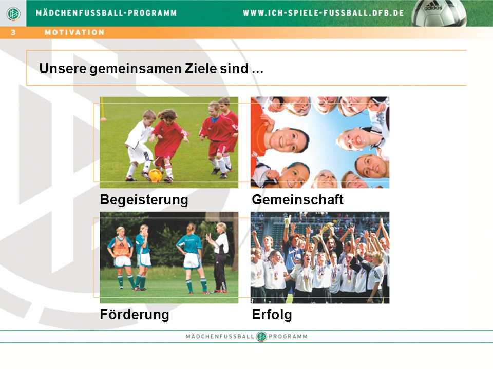 Wir Verbände haben erkannt, welche Chancen in der Förderung des Mädchenfußballs liegen.