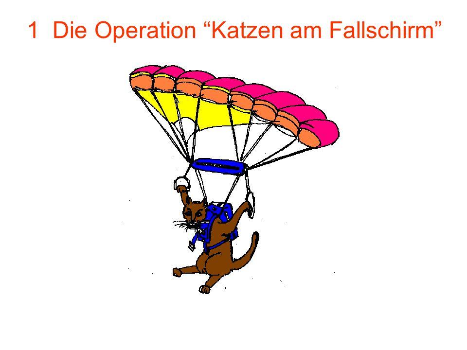 1 Die Operation Katzen am Fallschirm