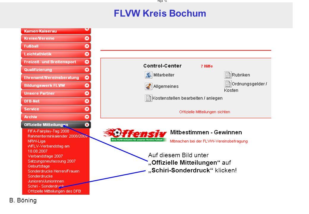 Page 12 FLVW Kreis Bochum B. Böning Auf diesem Bild unter Offizielle Mitteilungen auf Schiri-Sonderdruck klicken!