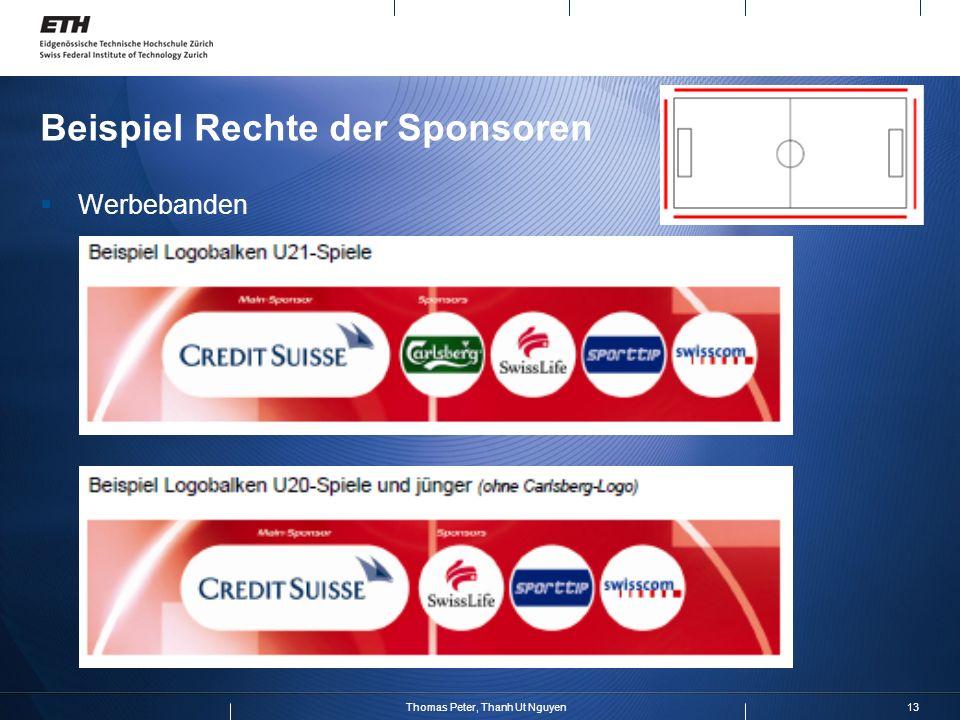 13Thomas Peter, Thanh Ut Nguyen Beispiel Rechte der Sponsoren Werbebanden