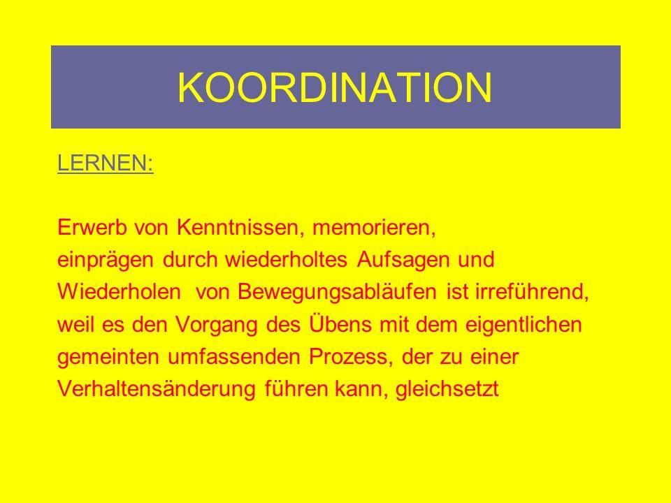 KOORDINATION c.