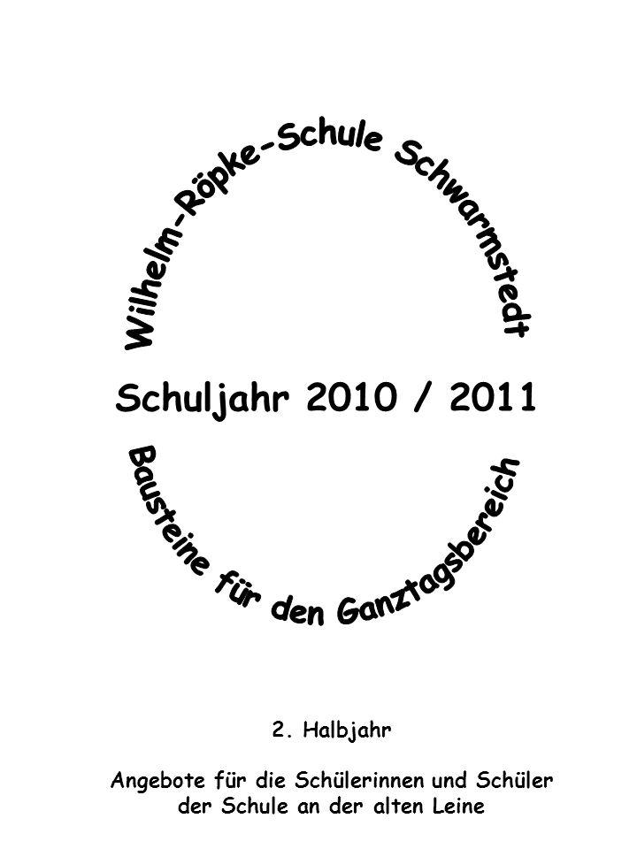 Schuljahr 2010 / 2011 2.