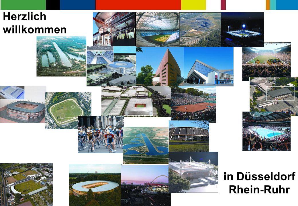 22 Herzlich willkommen in Düsseldorf Rhein-Ruhr