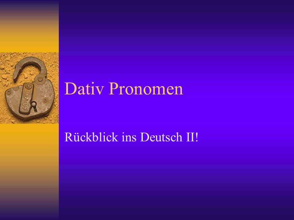 If there is one pronoun, the pronoun comes first.Der Angestellte gibt ihm eine Bordkarte.
