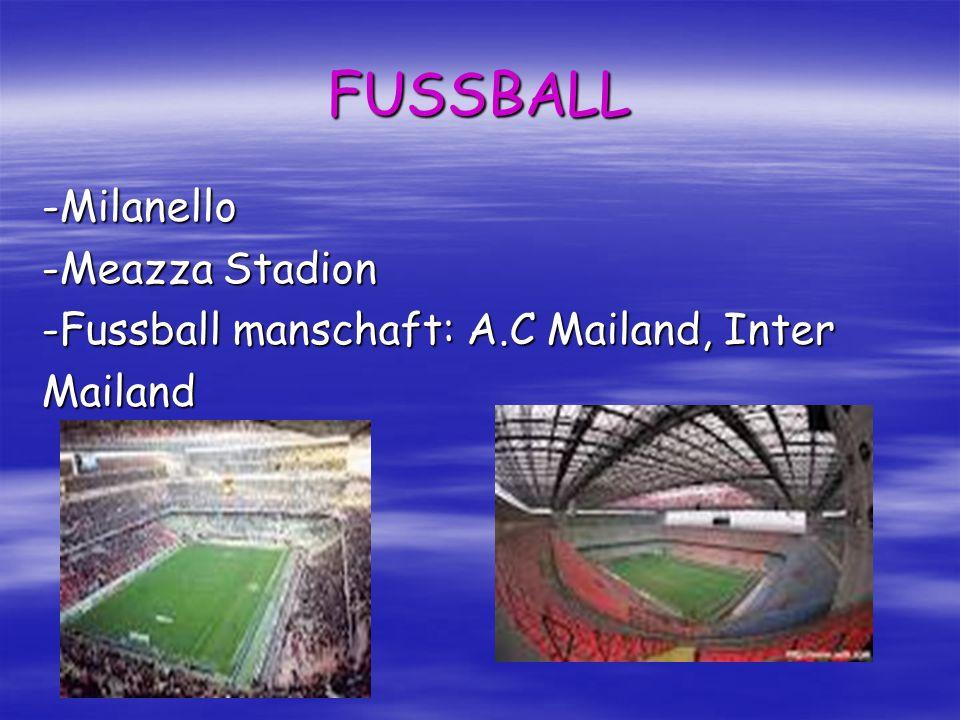 FUSSBALL -Milanello -Meazza Stadion -Fussball manschaft: A.C Mailand, Inter Mailand
