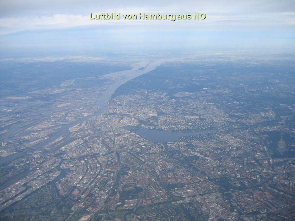Luftbild von Hamburg aus NO