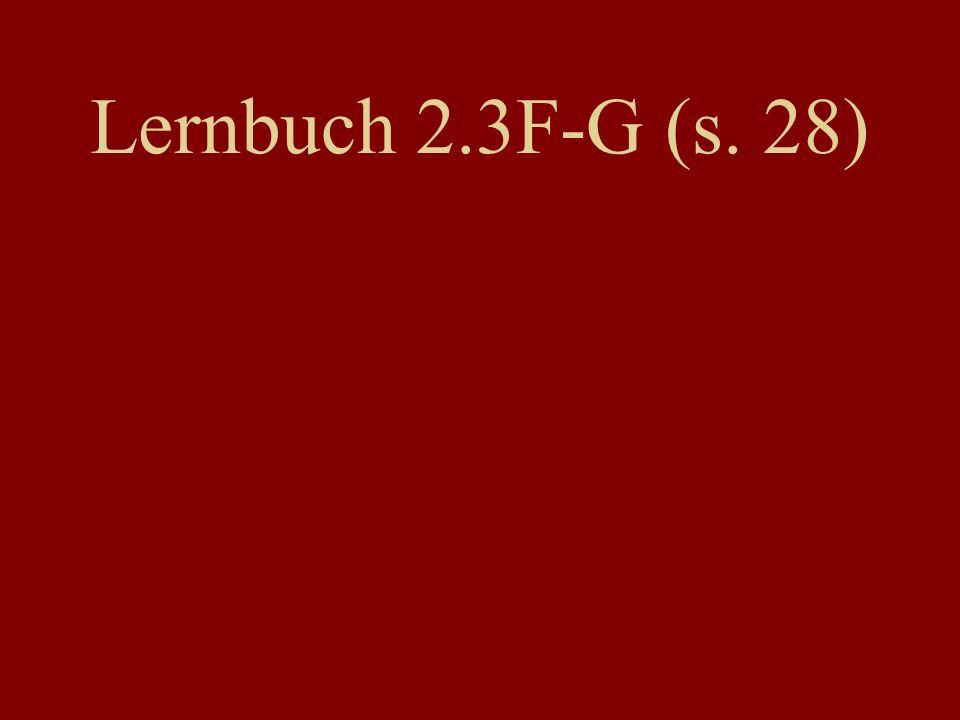 Lernbuch 2.3F-G (s. 28)