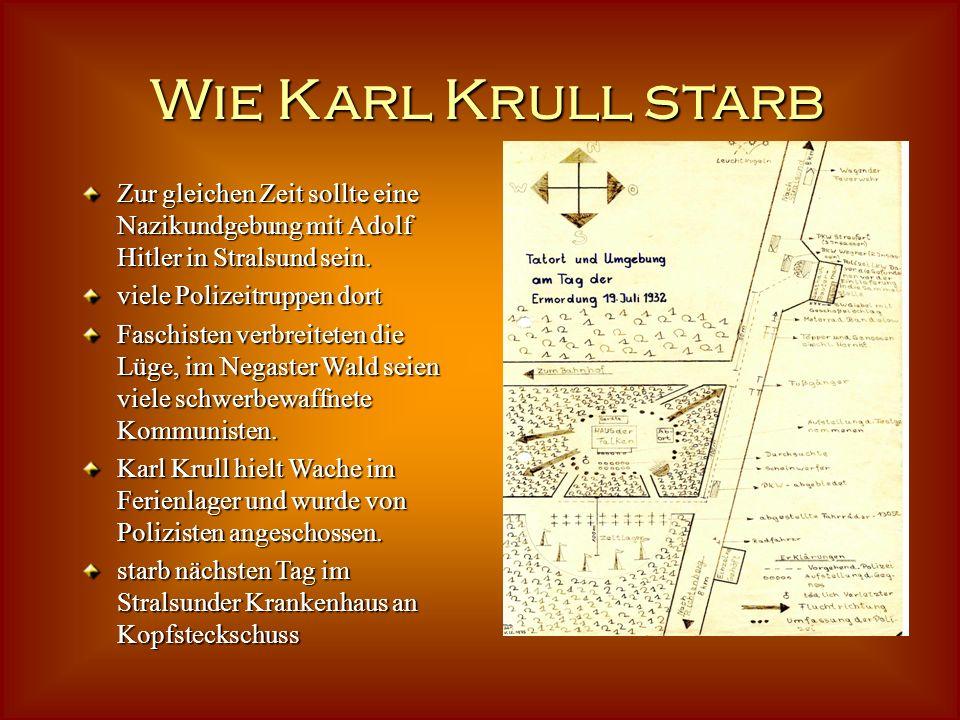 Das Ferienlager bei Negast Negast ein Dorf an der Chaussee zwischen Richtenberg und Stralsund Zeltplatz war im Wald 10 m von Chaussee entfernt Vormitt