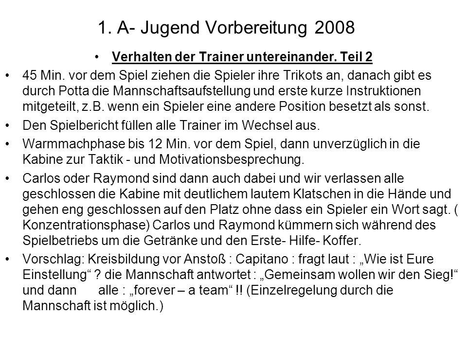 4.Trainingseinheiten: Beispiele : Einheit 103 : Verbesserung der Spielübersicht: 20 Min.