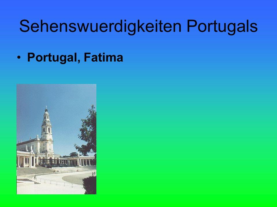 Sehenswuerdigkeiten Portugals Portugal, Fatima