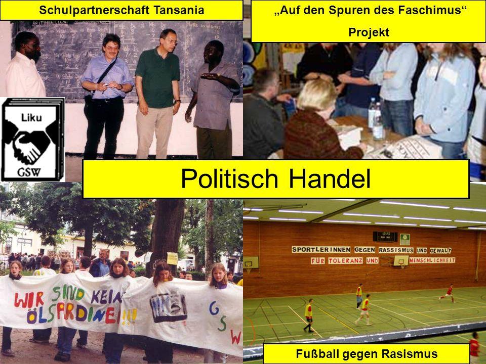 Demokratie Politisch Handel Fußball gegen Rasismus Schulpartnerschaft Tansania Auf den Spuren des Faschimus Projekt