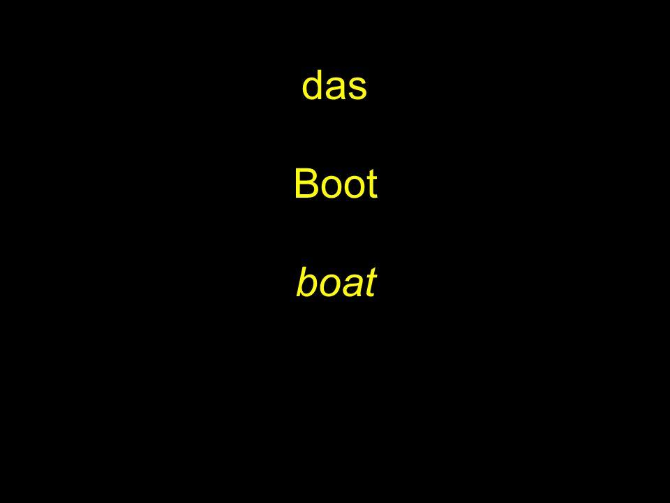 das Boot boat