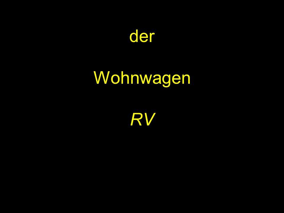 der Wohnwagen RV