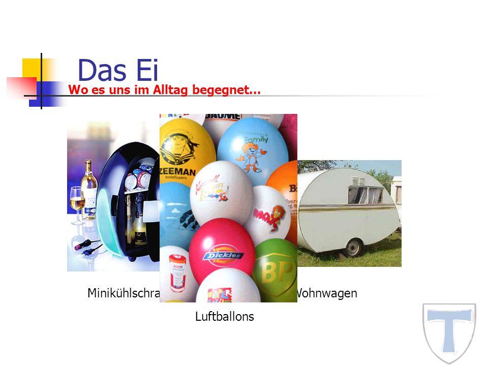 Das Ei Wo es uns im Alltag begegnet... MinikühlschrankWohnwagen Luftballons