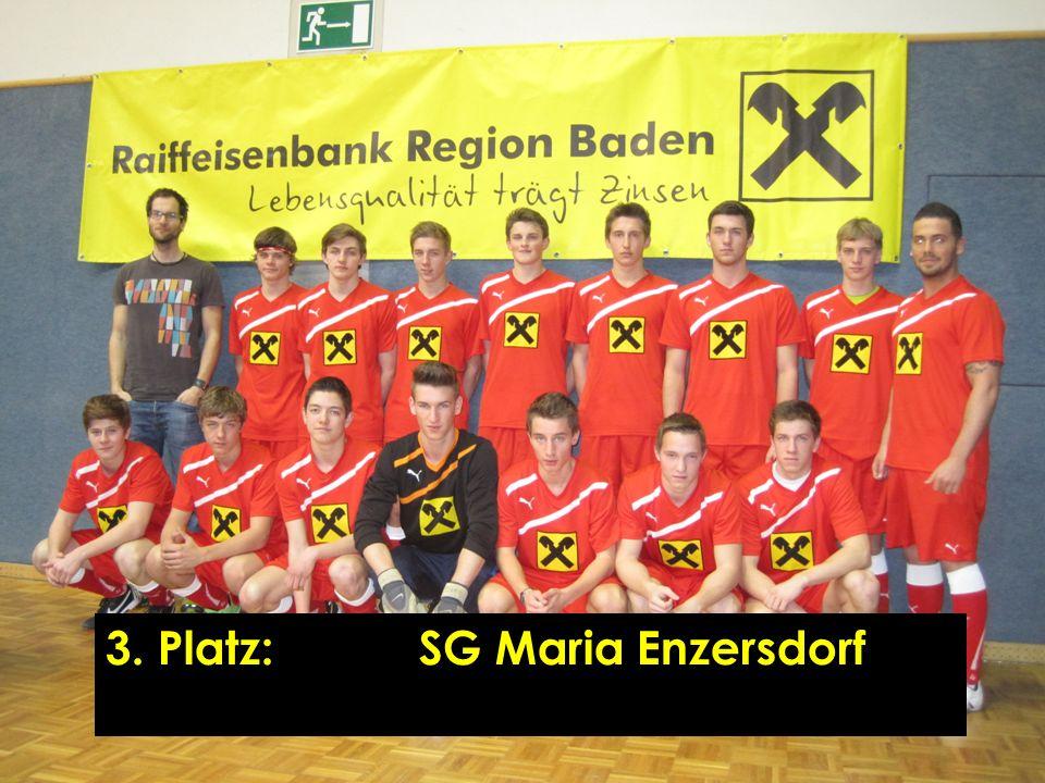 3. Platz:SG Maria Enzersdorf