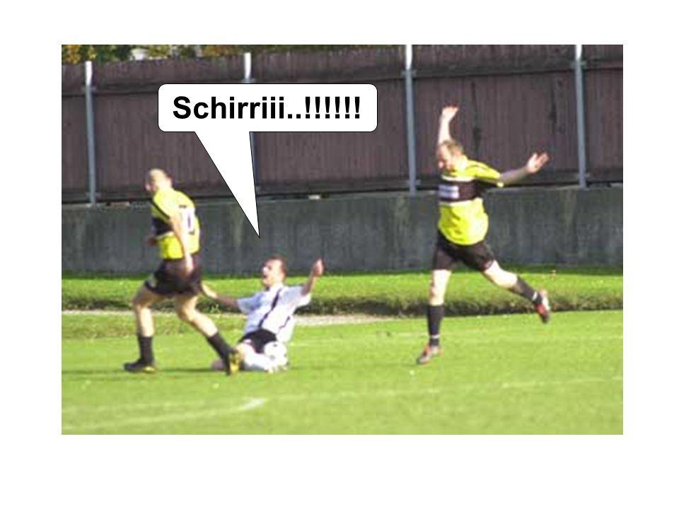 Hätt da Käptn den Elfer so scharf gschossn wie der Hobsch des zweite Tor: Der Goalesel hätt ka Chance ghobt!