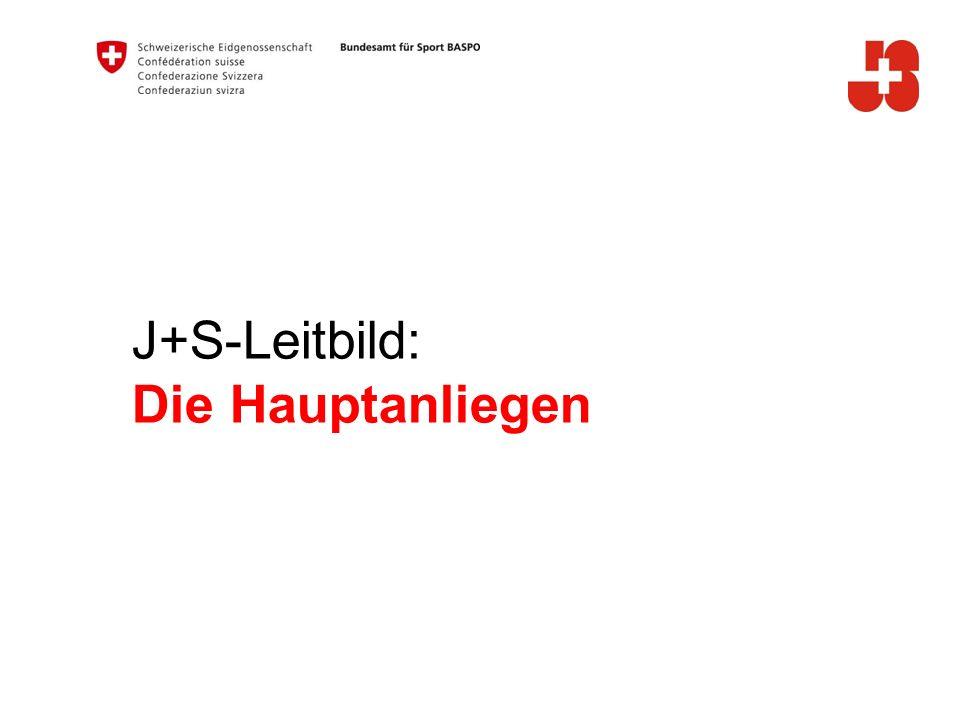 J+S-Leitbild: Die Hauptanliegen