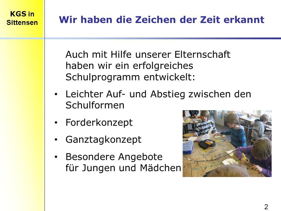 13 KLASSE 5 – vormittags für alle Kinder: Methodentraining Diagnosetests Forderbereich I (lesen/schreiben/rechnen) Forderbereich II ( DE, MA, NAWI, EN, GSW: Experimente/Wettbewerbe/Projekte/Sketche/Lektüren,...) KLASSE 6 – nachmittags freiwillig: Forderbereich I (lesen/schreiben/rechnen/Englisch) Forderbereich II (Informatik/Lego-Robotik) KGS in Sittensen Forderkonzept der KGS Sittensen