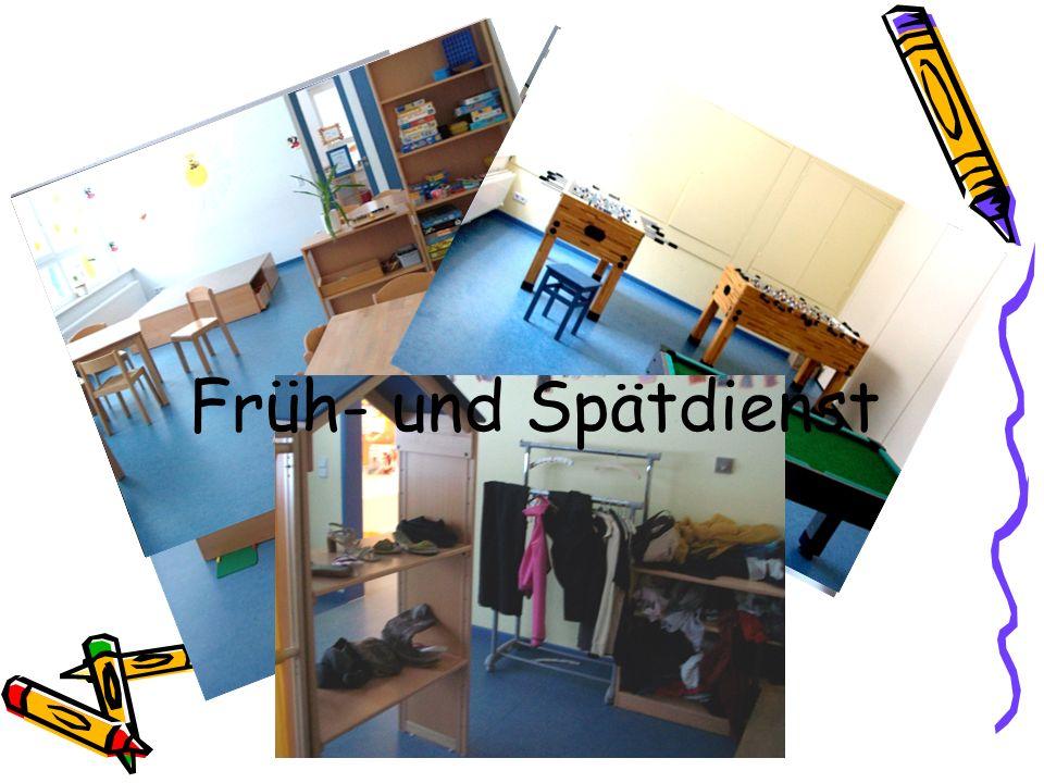 Konzept des FZH Im Haus sind unterschiedlich ausgestattete Räume Früh- und Spätdienst