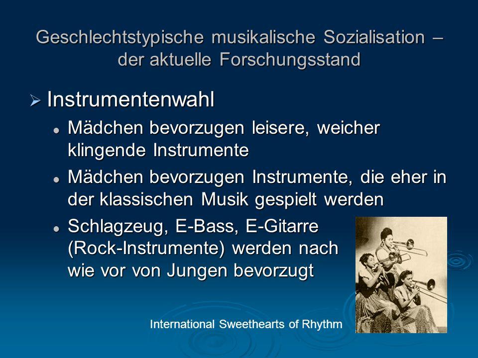 Instrumentenwahl Instrumentenwahl Instrumente, die elektronische Technik beinhalten (inkl.